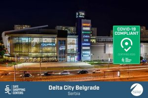 Hystead Limited and Delta City Belgrade receive COVID-19 certificate by SAFE ShoppingCenters