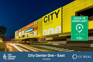 CC-Real and City Center One East receive COVID-19 certificate by SAFE ShoppingCenters