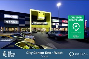 CC-Real and City Center One West receive COVID-19 certificate by SAFE ShoppingCenters