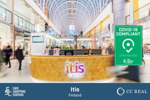 CC-Real and Itis receive COVID-19 certificate by SAFE ShoppingCenters