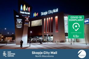 Hystead Limited and Skopje City Mall receive COVID-19 certificate by SAFE ShoppingCenters