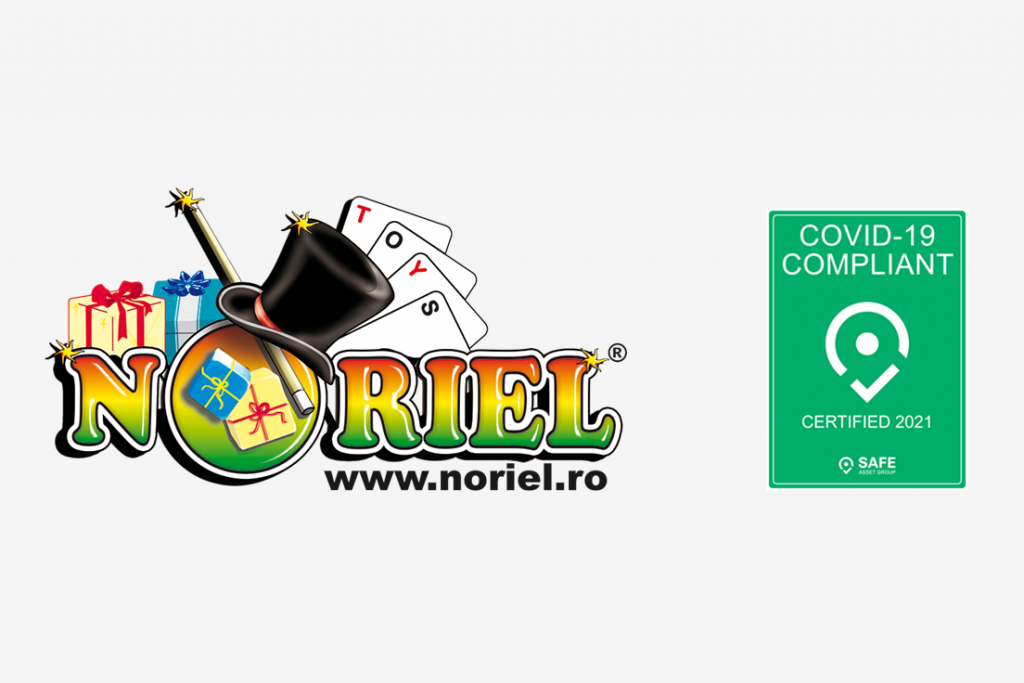 Noriel, the largest toys retailer in Romania, receive COVID-19 certification by SAFE Asset Group.