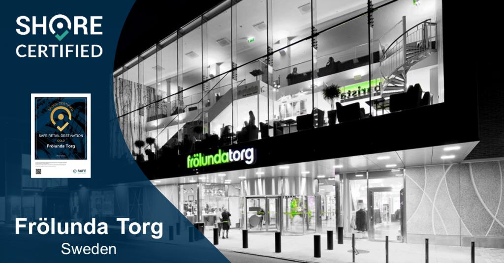 SHORE-certification for Frölunda Torg